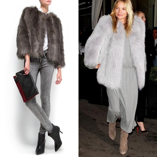 baratas para descuento nuevo alto hacer un pedido El chollo del día: chaquetón de pelo gris - Canal Chic