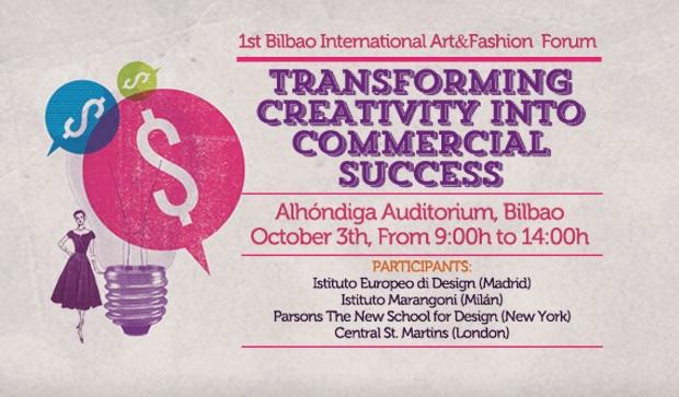 """I Foro internacional Art&Fashion: """"transformando la creatividad en un éxito comercial"""""""