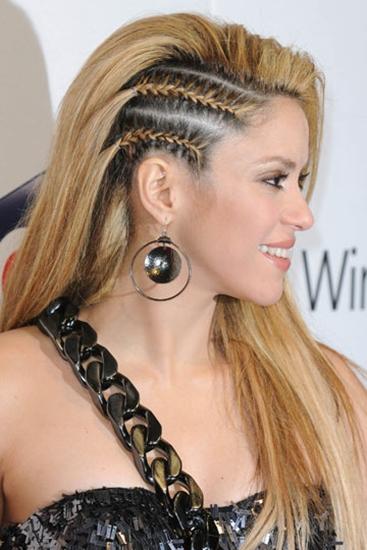 Shakira y su particular estilo rock