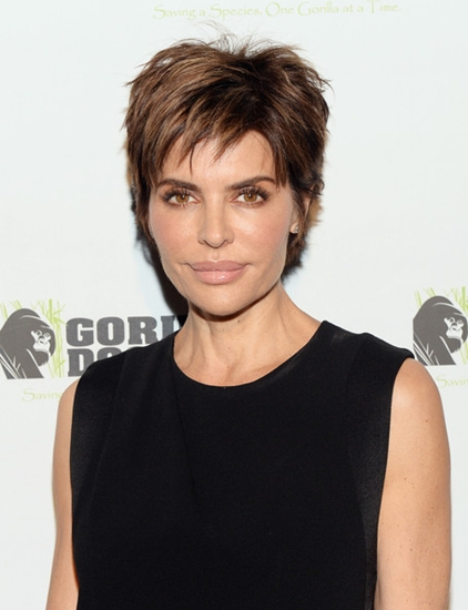 spiky Lisa Rinna