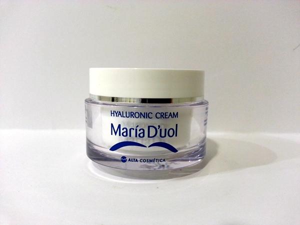 Crema de ácido hialurónico de María D´uol