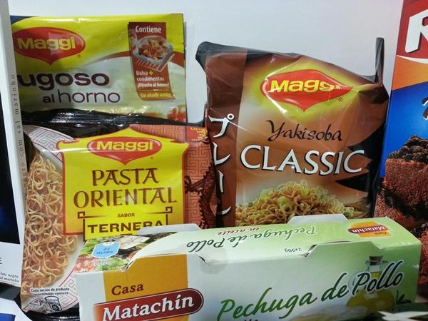 Noodles, comida sana y rápida que preparamos con